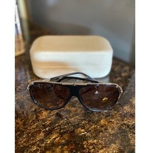 Marc Jacobs Sunglasses - Black & Silver